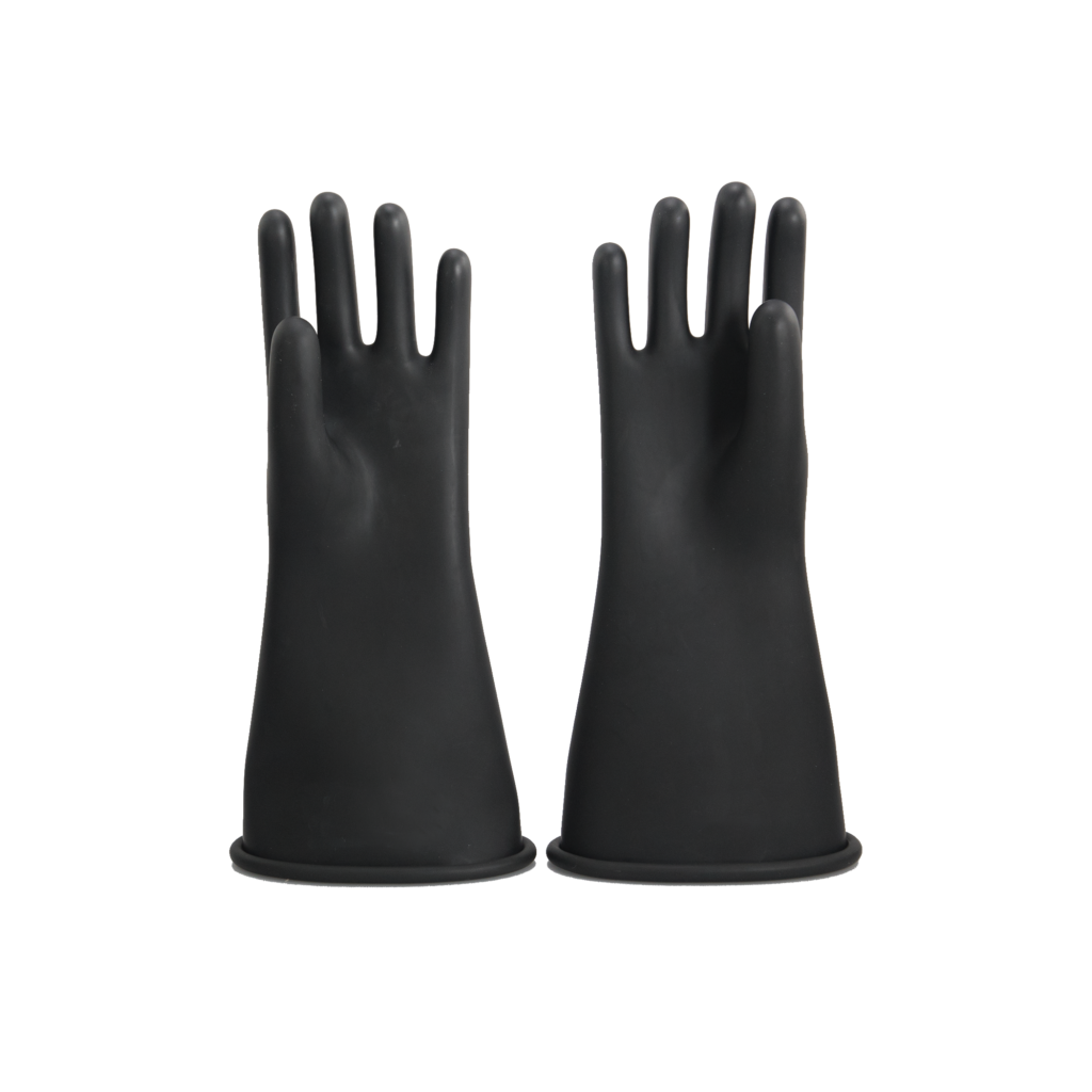 Class 2 Rubber Electrical Gloves