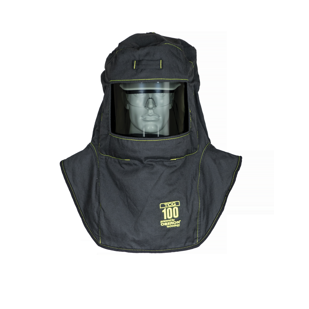 100 Cal TCG™ Arc Flash Hood with Light and Ventilation System