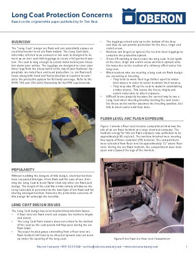 Hazardous Long Coat White Paper