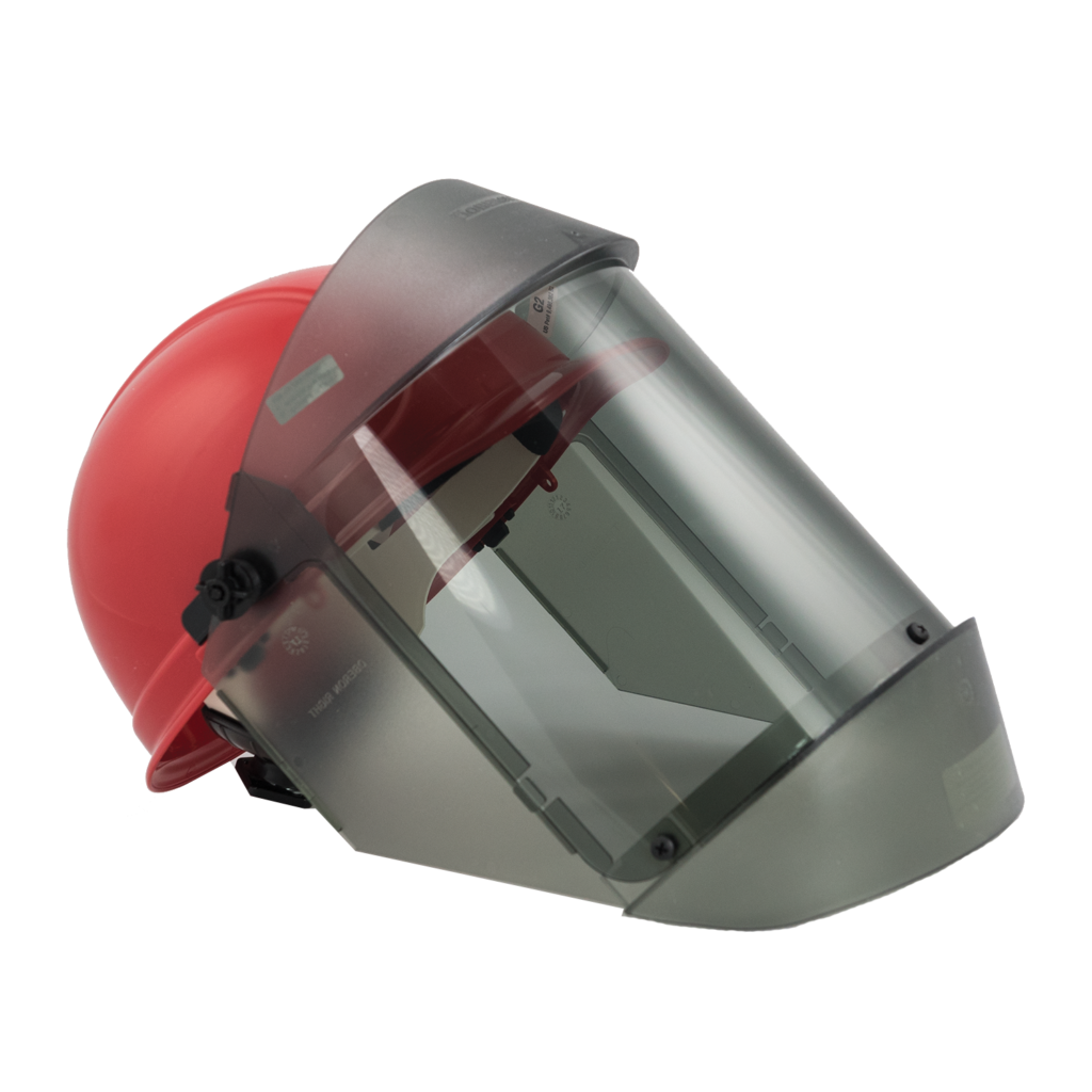 12 Cal Polycarbonate Face shield