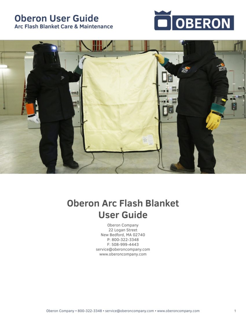 Arc Flash Blanket User Guide
