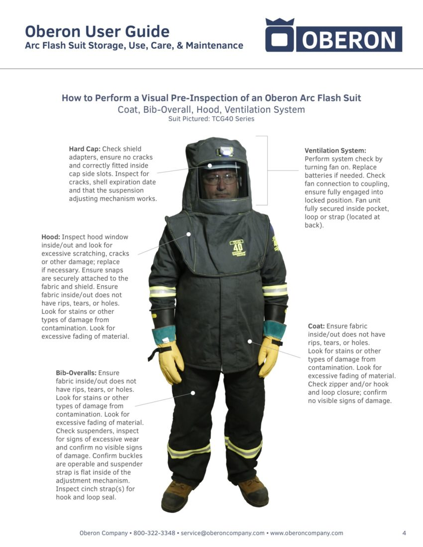 Arc Flash Suit Inspection Guide