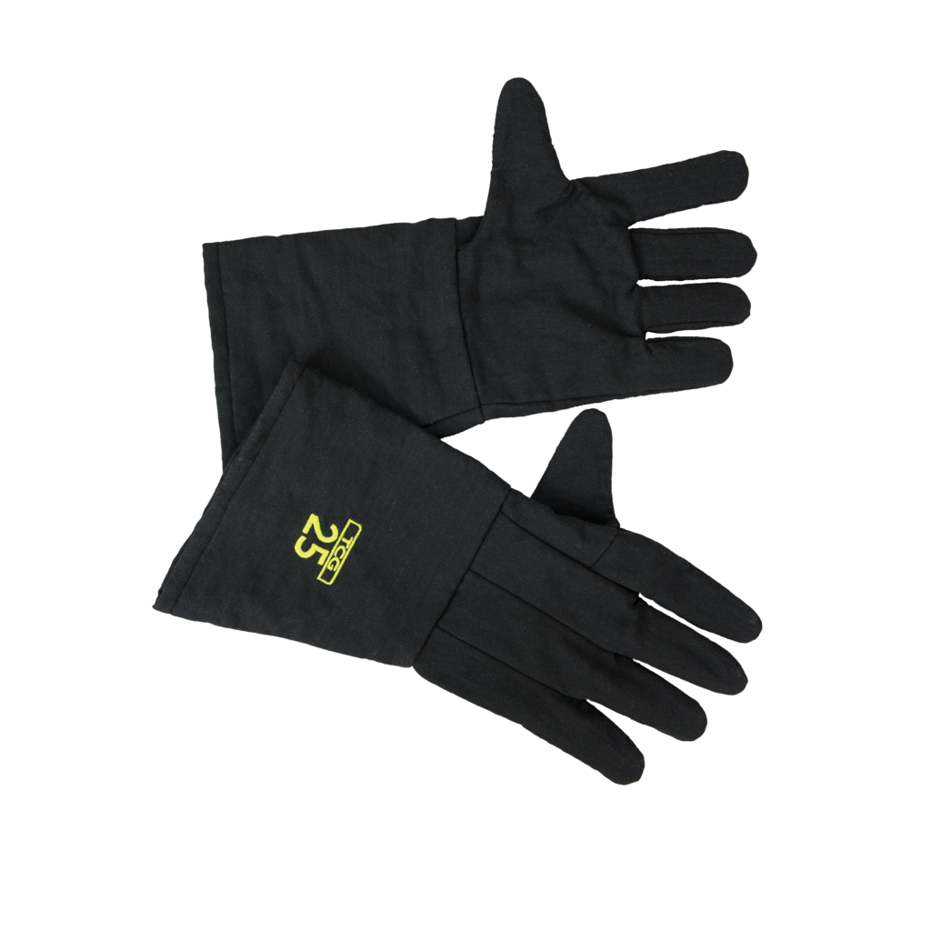 25 Cal TCG™ Arc Flash Gloves can be used to protect your hands when risk of an arc flash is present. They are the perfect solution when doing thermography.