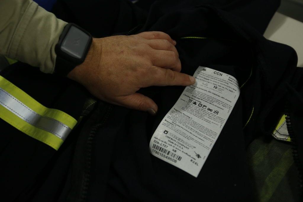 astm f1506 certification label