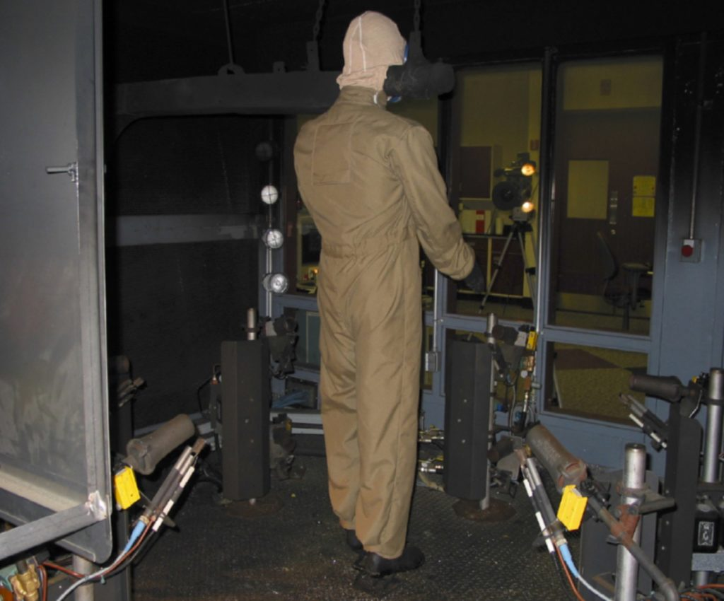 gas extraction suit