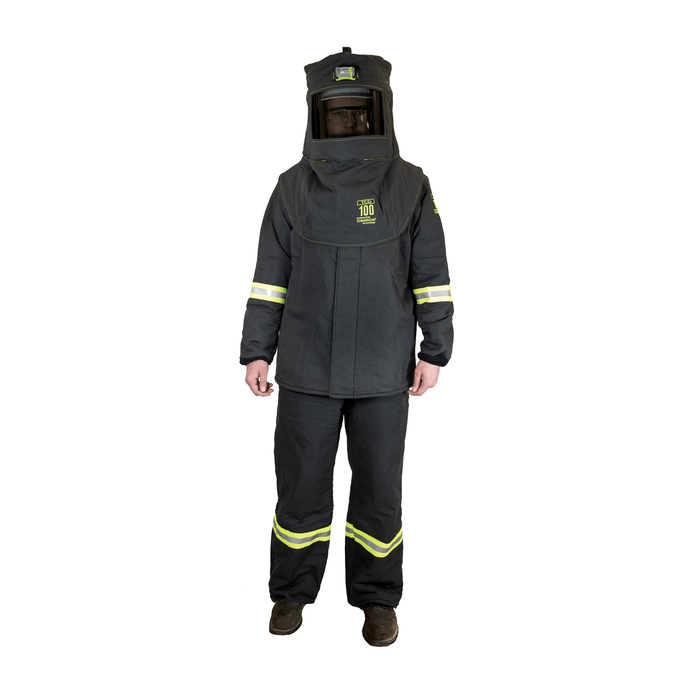 100 Cal TCG™ Arc Flash Kit with Light and Vent