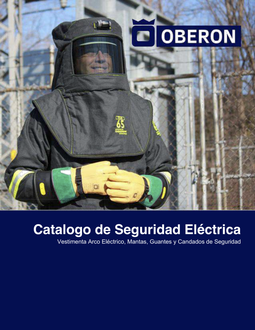 Oberon Electrical Safety Catalog (Spanish)