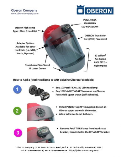 TCG™ Shield Light Install Instructions