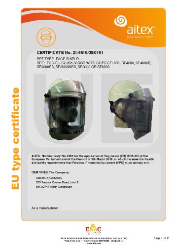 TCG-EU-G2-K25 CE Certficate
